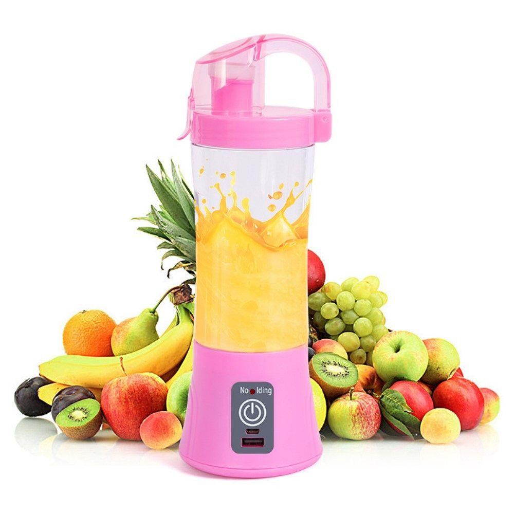 Portable smoothie maker (pink)