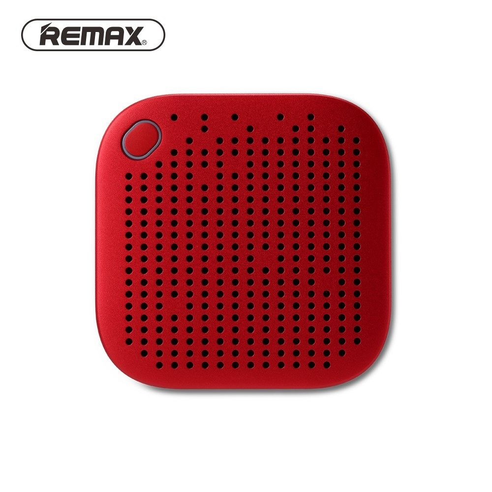 Bluetooth speaker REMAX RB-M27 (red)