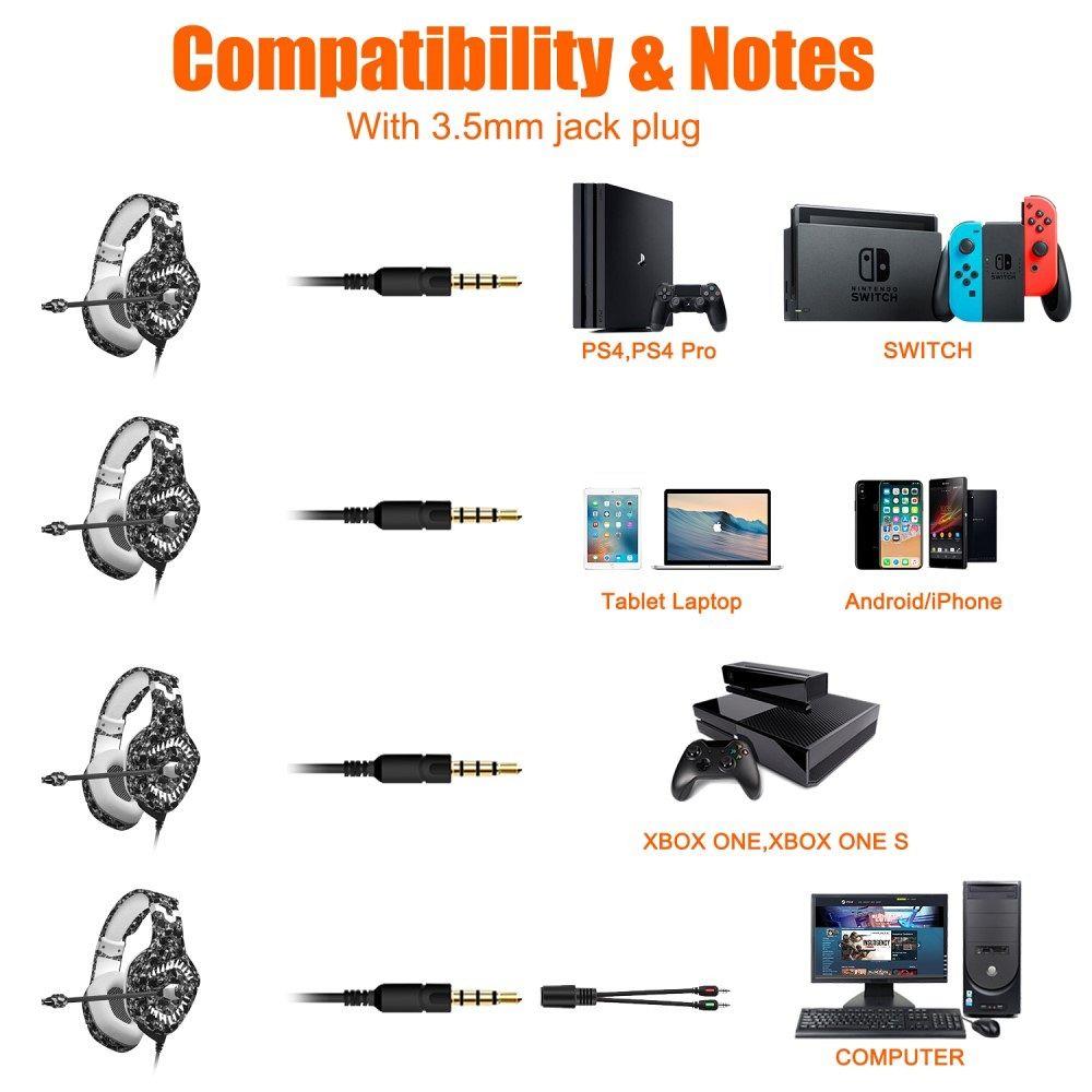 Slušalke z vikrofonom ONIKUMA K1 Pro