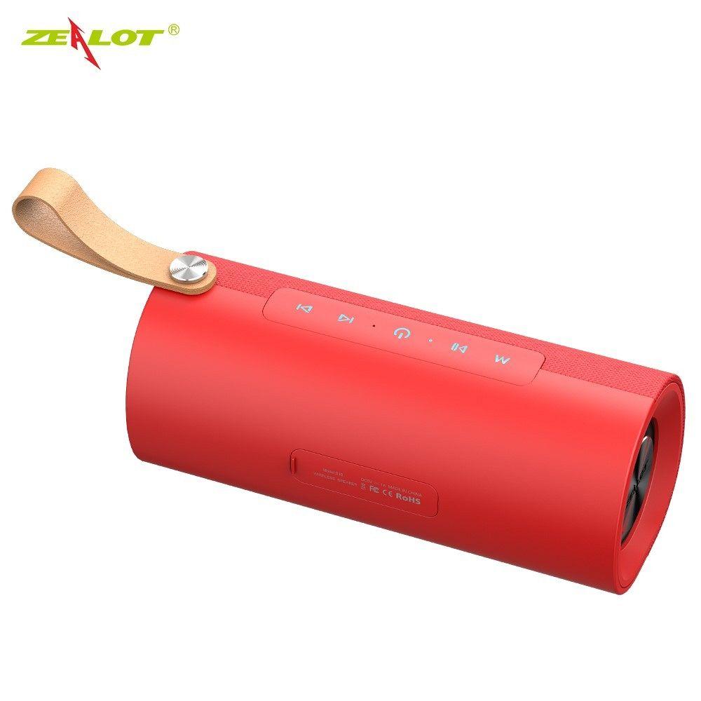Bluetooth zvočnik ZEALOT S30 (subwoofer) red