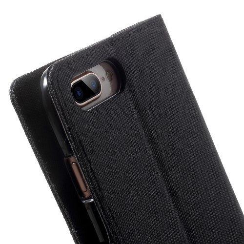 Apple iPhone 7 Plus / 8 Plus Goospery (Black) flip tok