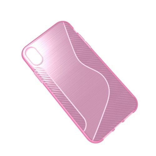 Maska S-line (roza) za iPhone XR