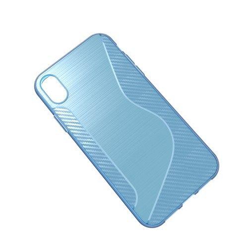 Maska S-line (plava) za iPhone XR