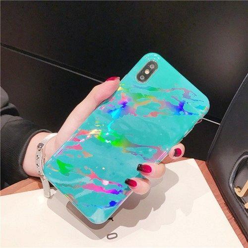 iPhone XS Max 6.5 inch TPU (cyan) tok