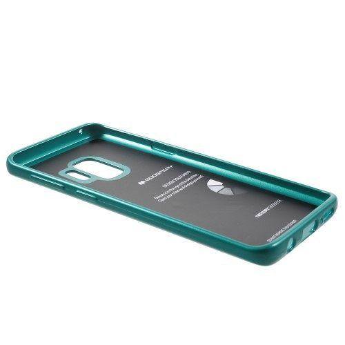 Ovitek TPU Goospery Jelly (zelen) za Galaxy S9
