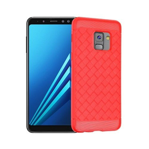 Maska I-ZORE (crvena) za Samsung Galaxy A8 2018