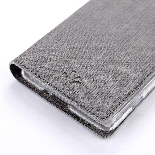 Preklopni ovitek VILI DMX Cross (siv) za Sony Xperia XZ2 Compact