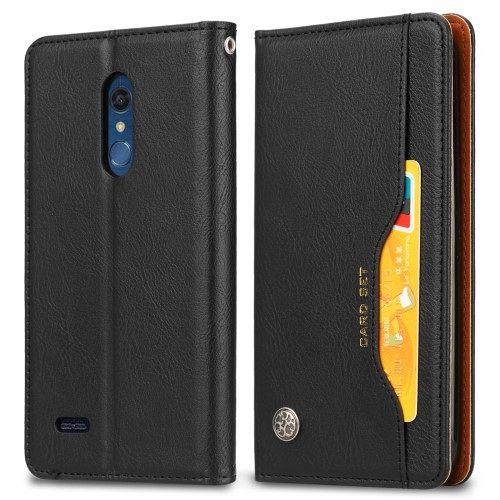 LG K10 (2018) (black) flip tok
