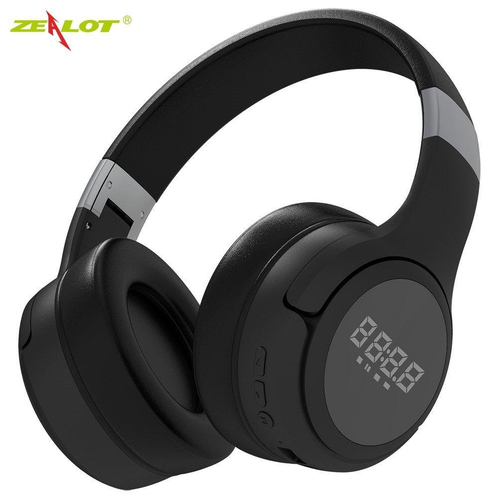 Slušalice ZEALOT LCD Display (black)