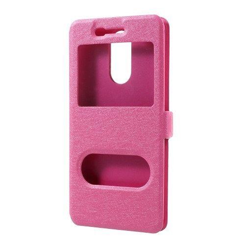 LG K8 2017 Window (pink) flip tok
