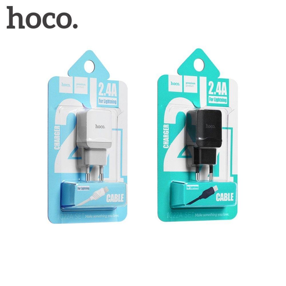 Stenski polnilec HOCO C22A Micro USB