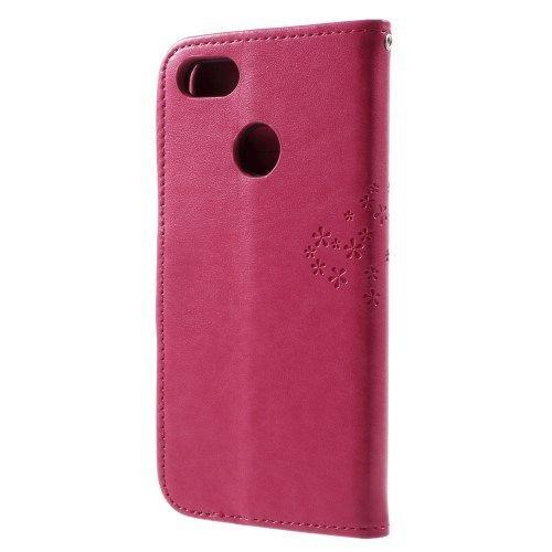 Preklopni ovitek (Rdeč) za Huawei P9 Lite mini