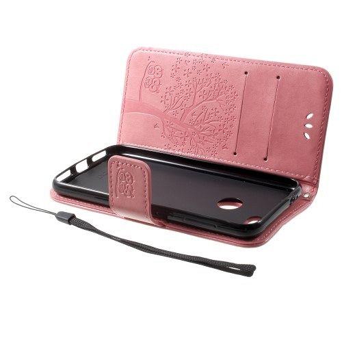 Preklopni ovitek (Roza) za Huawei P9 Lite mini