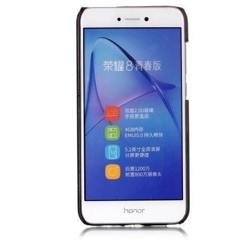 Ovitek Contrast Color (črn) za Huawei Honor 8 Lite/P8 Lite 2017