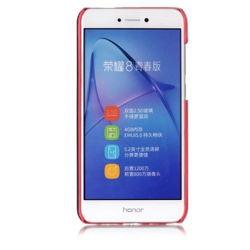 Ovitek Contrast Color (rdeč) za Huawei Honor 8 Lite/P8 Lite 2017