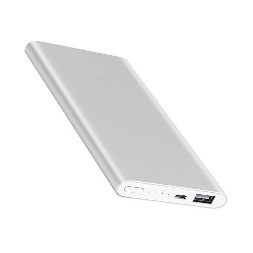 Power bank 5000mAh silver