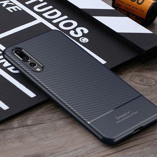 Huawei P20 Pro iPaky carbon (dark blue) tok