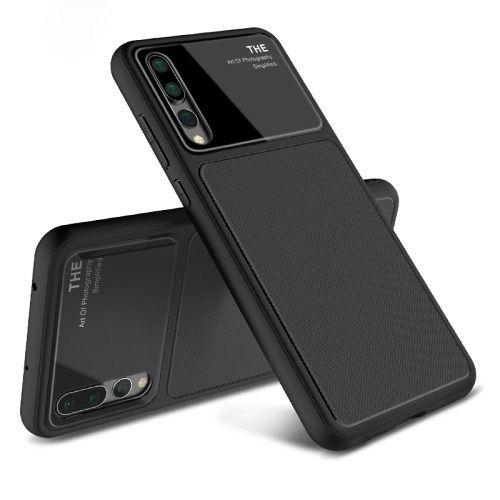 Maska Lenuo (black) za Huawei P20 Pro