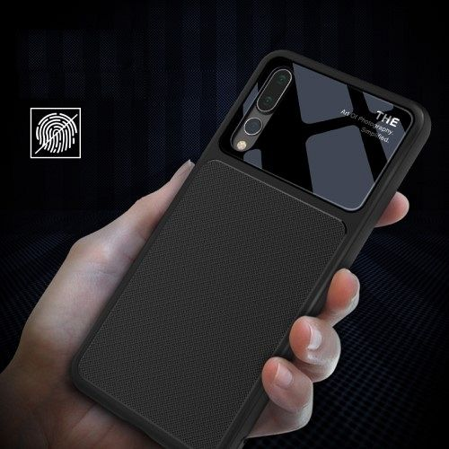 Ovitek Lenuo (black) za Huawei P20 Pro