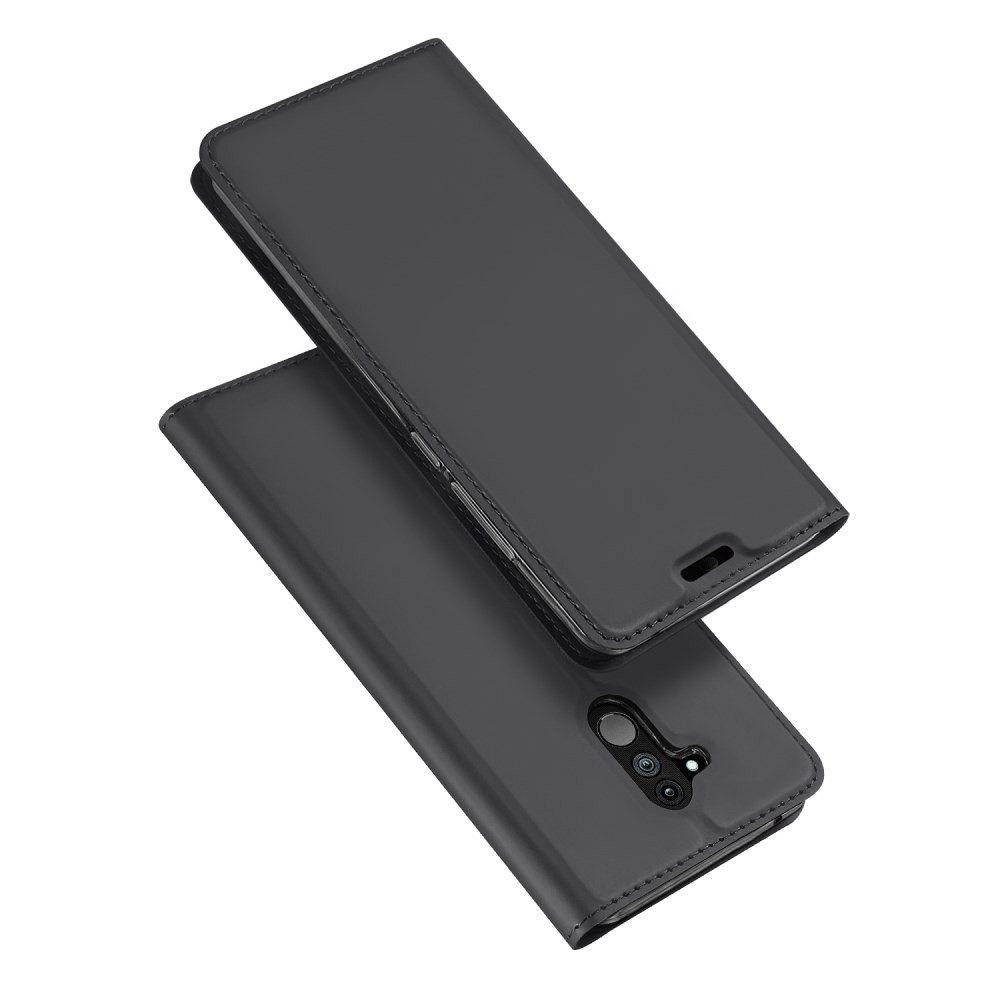 Huawei Mate 20 Lite Dux Ducis (black) flip tok