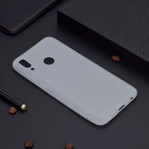 Ovitek TPU (white) za Huawei P Smart (2019)