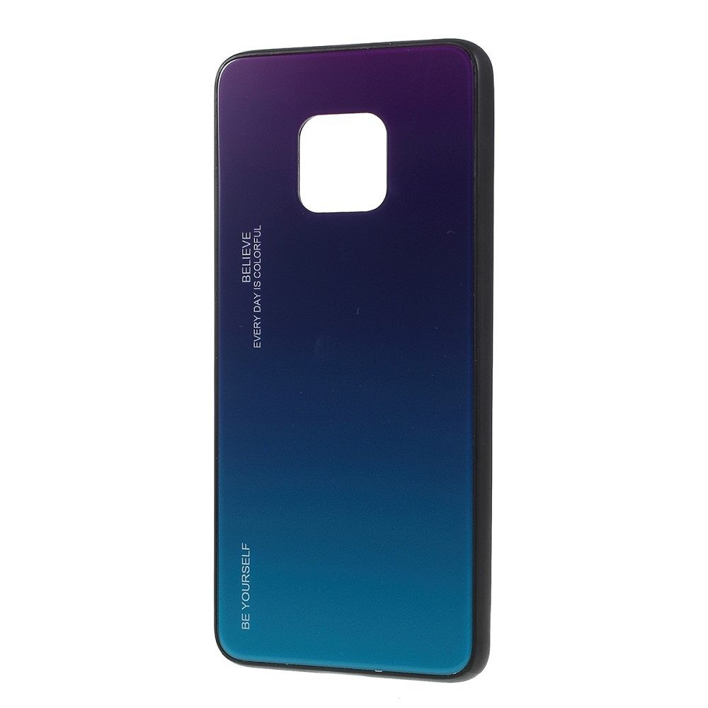 Maska  TPU + glass (purple/blue) za Huawei Mate 20 Pro