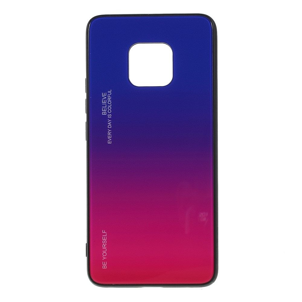 Maska  TPU + glass (blue-rose) za Huawei Mate 20 Pro