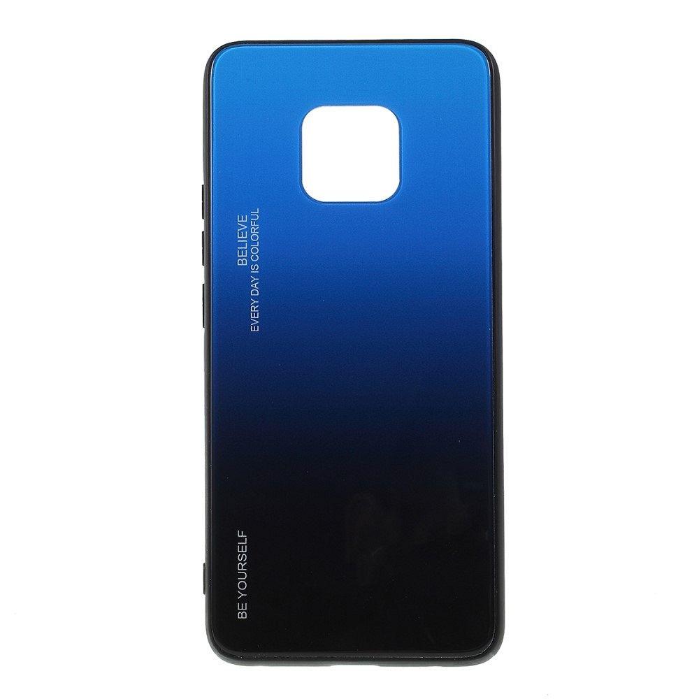 Maska  TPU + glass (blue/black) za Huawei Mate 20 Pro