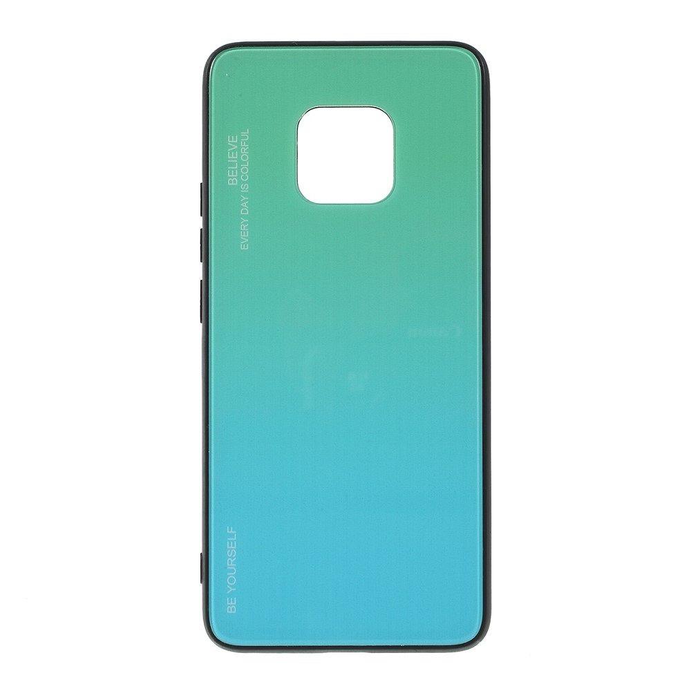 Maska  TPU + glass (cyan) za Huawei Mate 20 Pro
