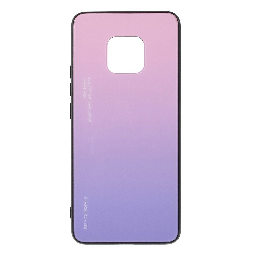 Maska  TPU + glass (purple) za Huawei Mate 20 Pro