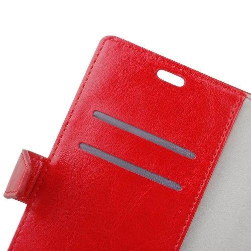 Preklopni ovitek (Rdeč) za Huawei Nova Smart