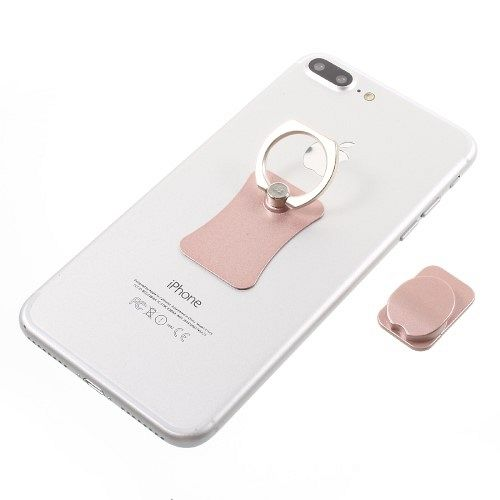 Finger Grip Holder/Phone mount (rose gold)