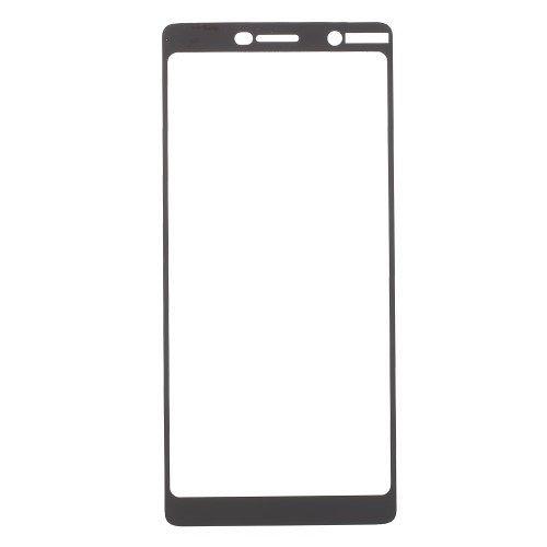 Temperirano zaštitno staklo (black) za Nokia 7 plus