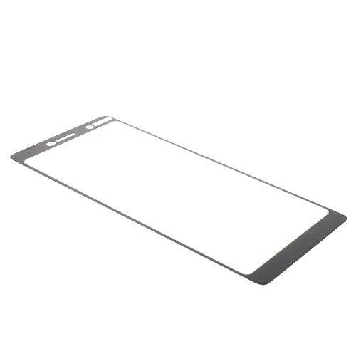 Kaljeno zaščitno steklo (black) za Nokia 7 plus