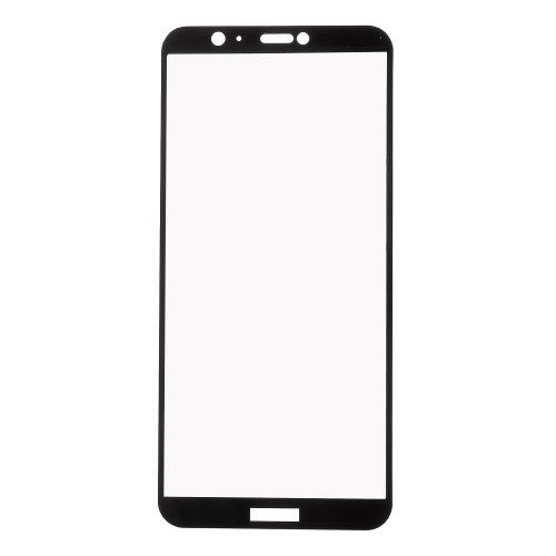 Huawei P Smart Edzett biztonsági védőüveg (black)