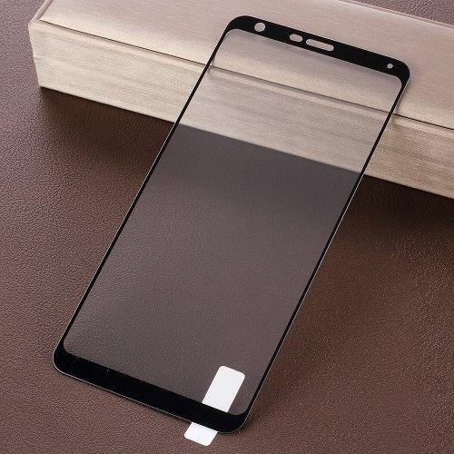 LG Q Stylus Edzett biztonsági védőüveg (black)
