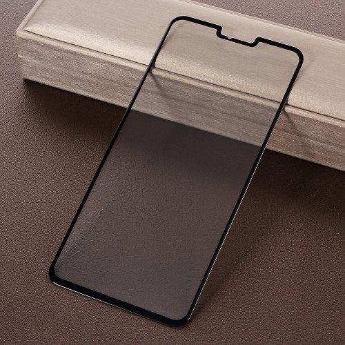 Kaljeno zaščitno staklo (Crno) za LG V40