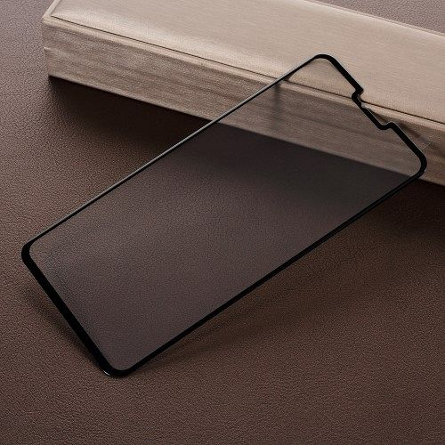 Kaljeno zaščitno steklo (črno) za LG V40
