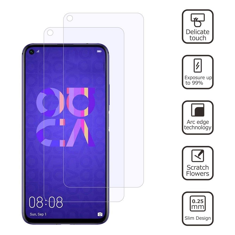Kaljeno zaščitno steklo (2 PCS) za Huawei Nova 5T/Honor 20