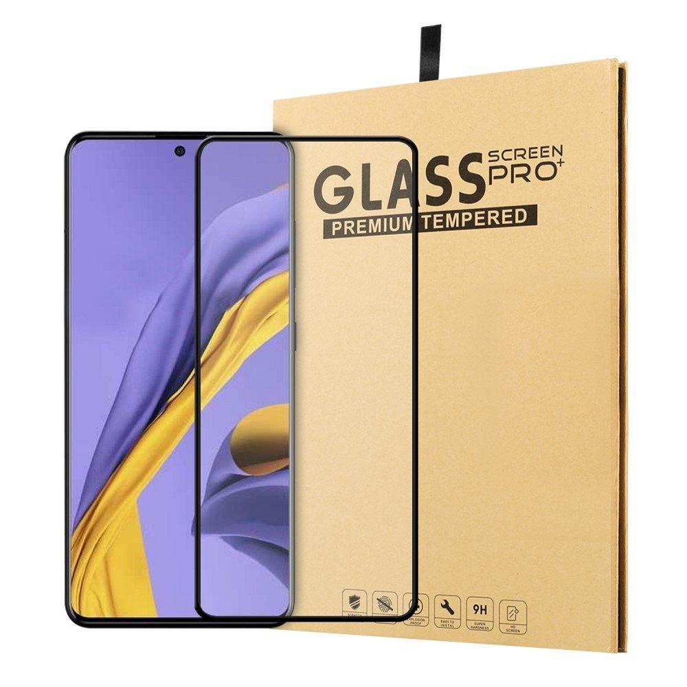 Temperirano zaštitno staklo 3D (black) za Samsung Galaxy A51