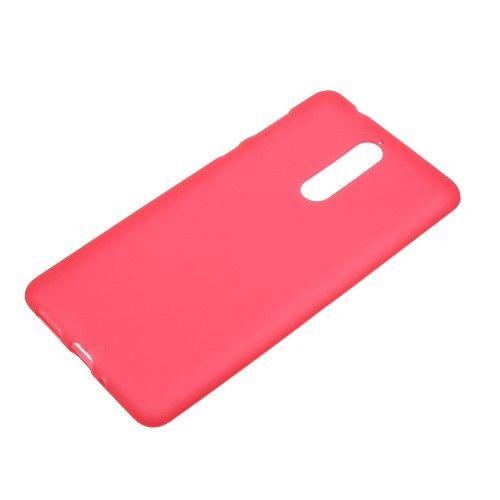 Maska TPU (crvena) za Nokia 8