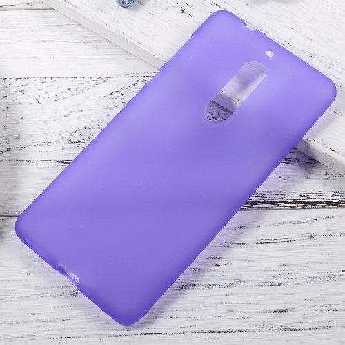 Maska TPU (vijola) za Nokia 5