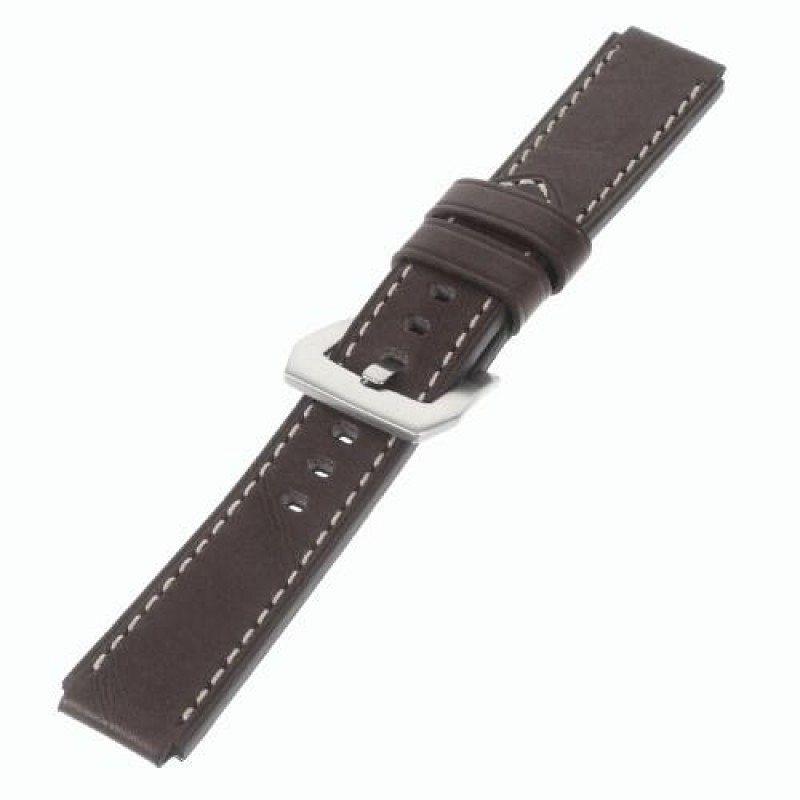 Premium leather belt za Huawei Watch GT / GT 2 - 42mm (brown)