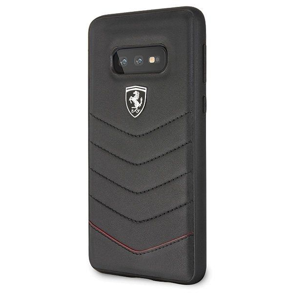 Originalna maska Ferrari (Heritage Quilted Collection) za Samsung Galaxy S10 Plus