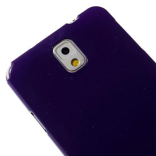 Ovitek TPU (vijolična) za Samsung Galaxy Note 3