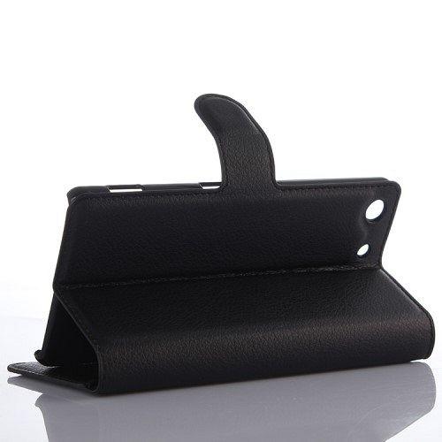 Preklopni ovitek (črn) za Sony Xperia M5 / M5 Dual