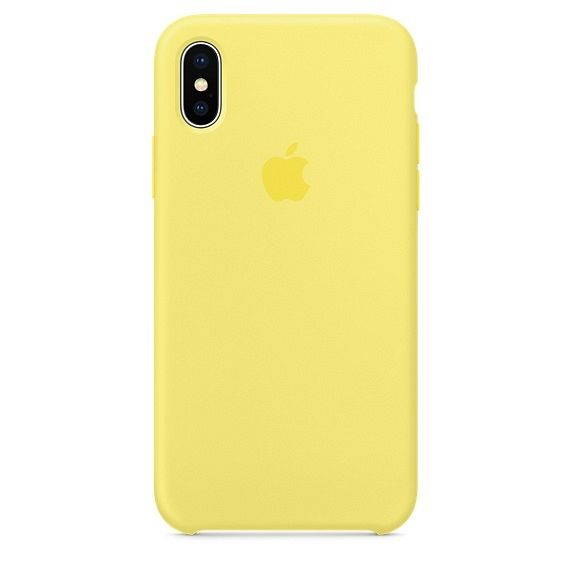 iPhone X/XS TPU Silicone (yellow) tok