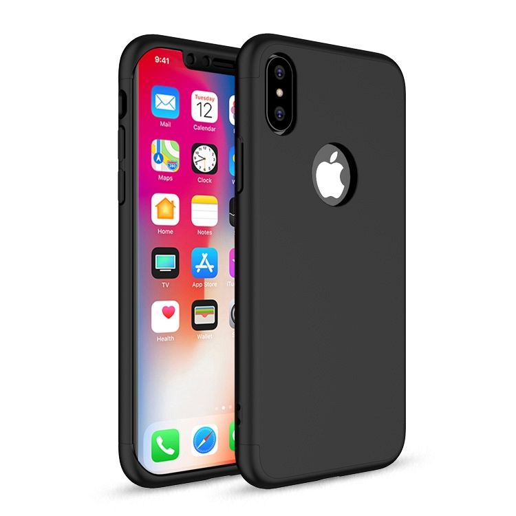 Maska 360° (Crna) Apple iPhone X/XS