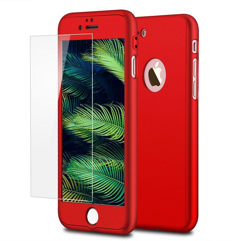Ovitek 360° (Rdeč) za Apple iPhone 6 Plus/6s Plus