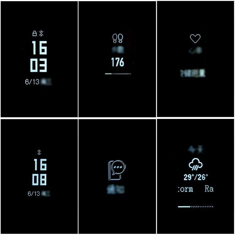 Pametna narukvica Xiaomi Mi Band 3 (crna)